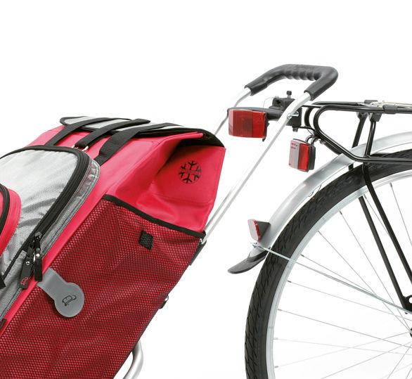 Andersen boodschappenwagentje voor achter de fiets