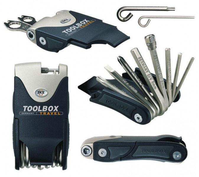SKS Toolbox Travel 10010 18 functies