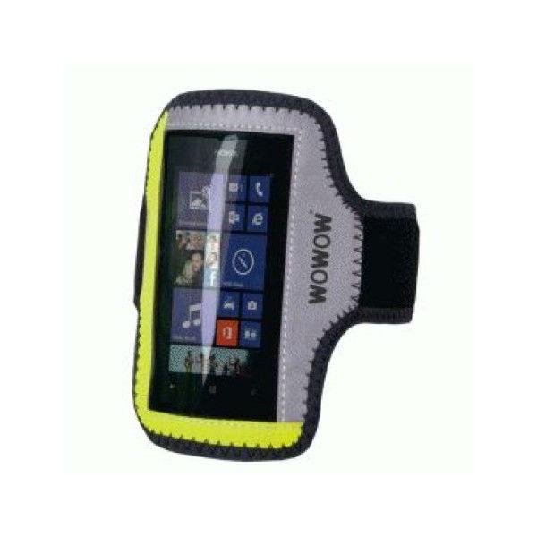 Wowow smartphone armband reflecterend